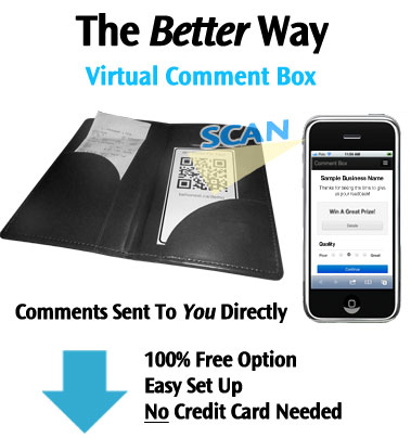 Virtual Comment Card